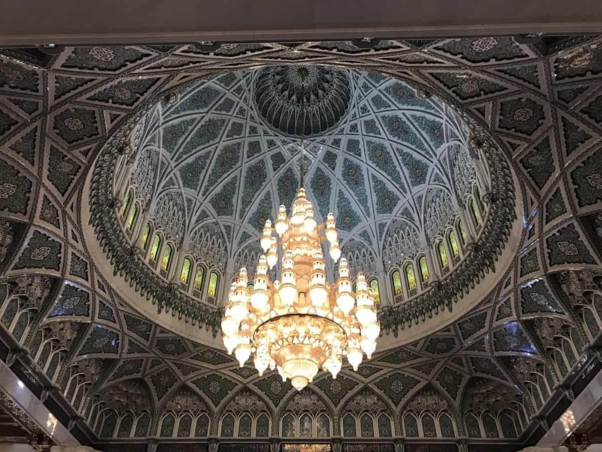 Wielki Meczet Sultana Qaboosa żyrandol - the travelling twins