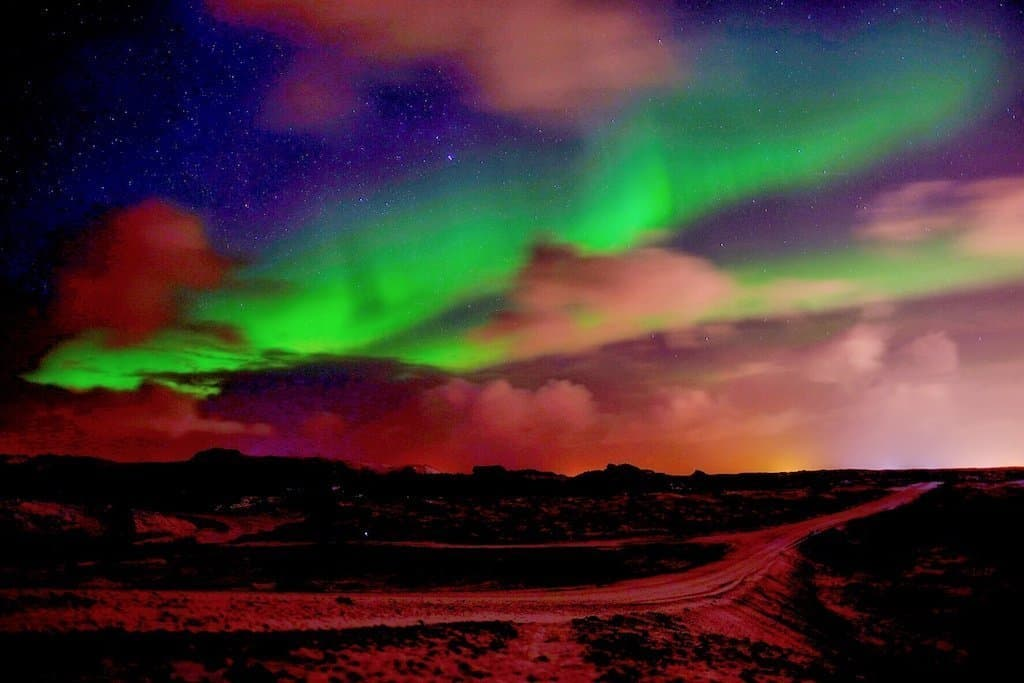 Northern Lights in Iceland in Winter, northern lights iceland january, northern lights tour Iceland in December