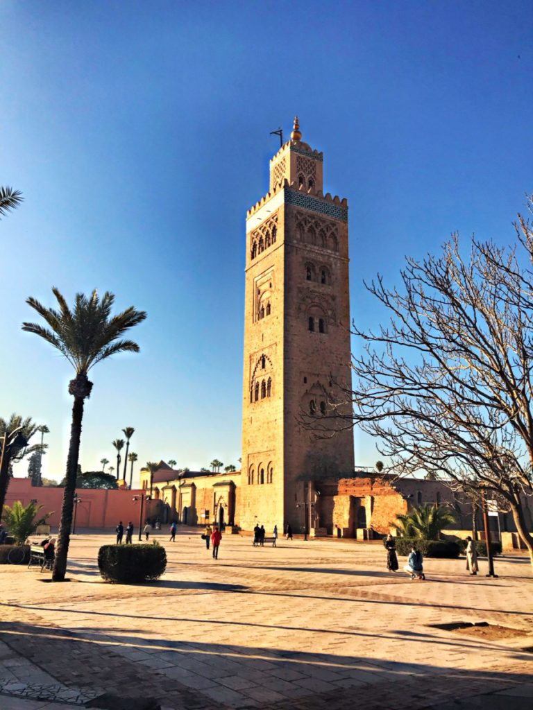 marrakech with kids - Koutoubia Mosque