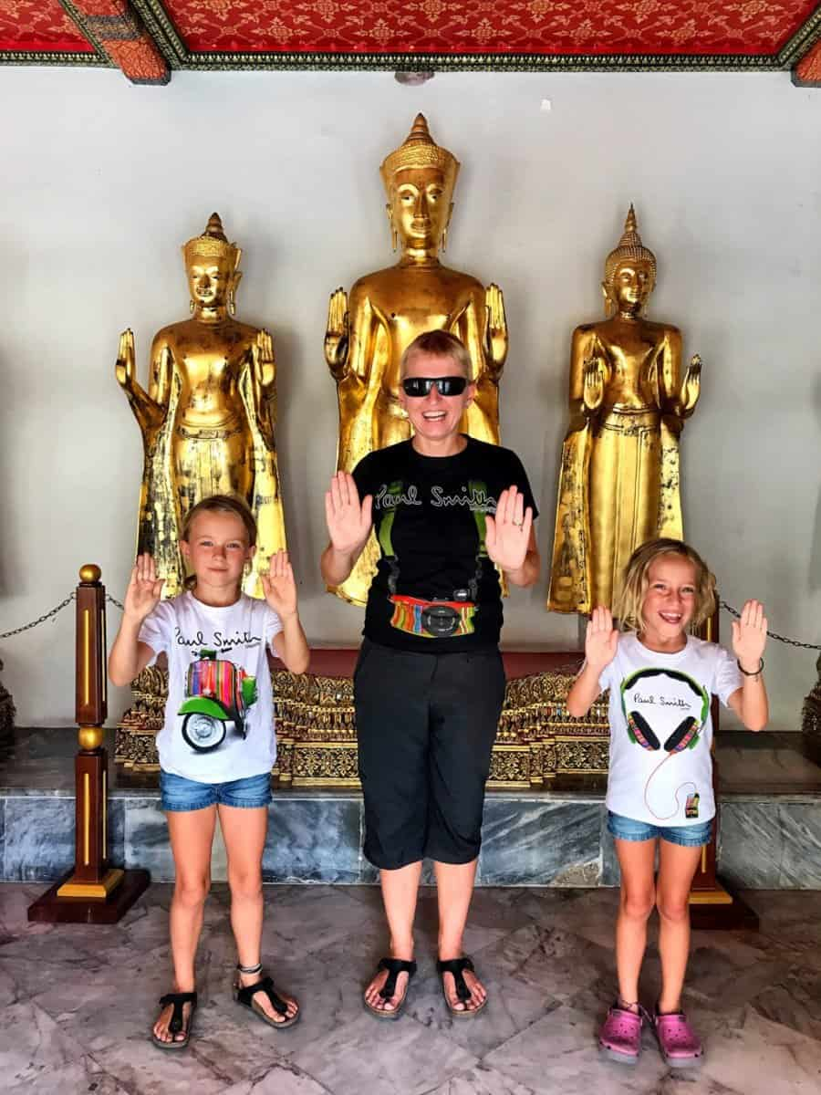 temples to visit with Children in Bangkok