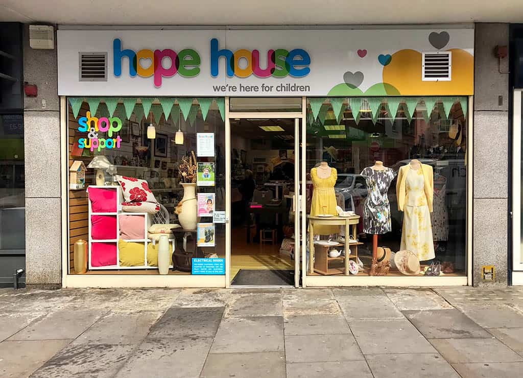shrewsbury stores, hope house charity