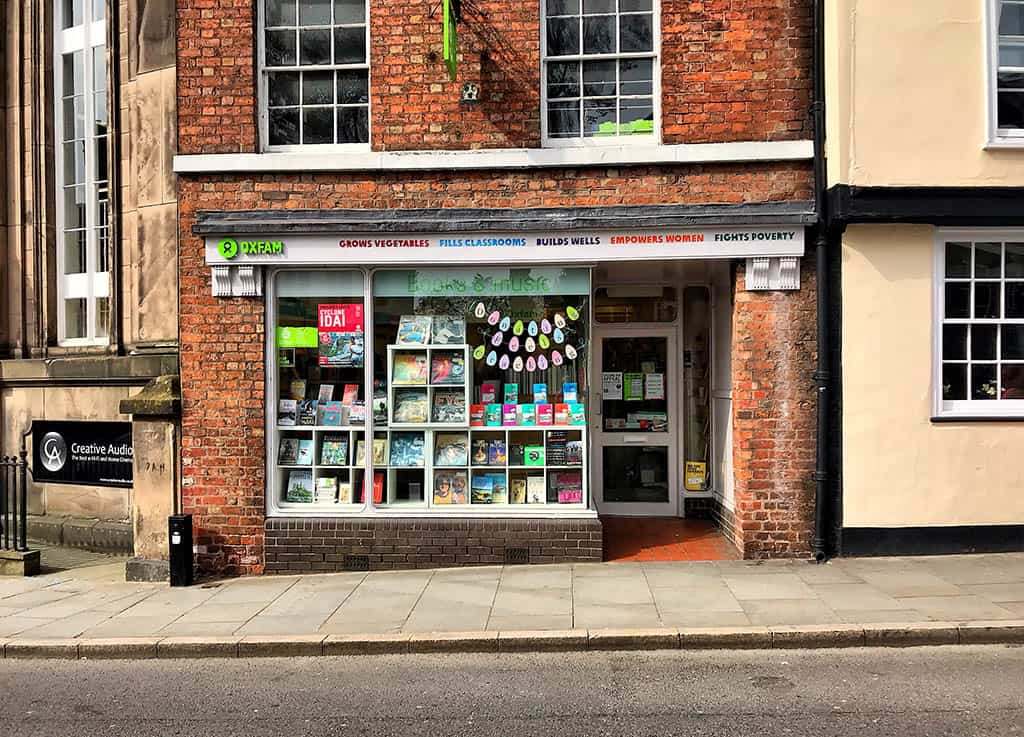 shrewsbury oxfam bookshop, shrewsbury bookshop