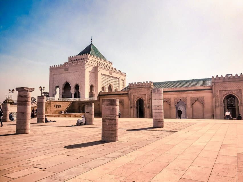 Mausoleum of King Mohamed V - things to do in rabat morocco