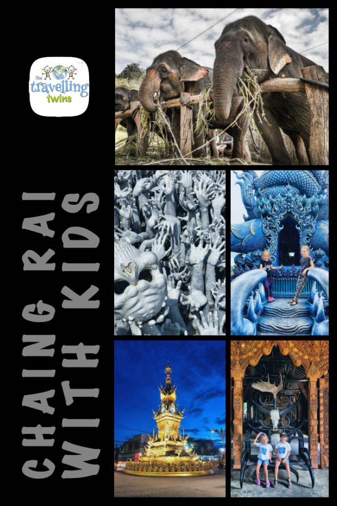 Chiang Rai with Kids - what to do? what to see? where to stay? Black House, White Temple, Blue Temple #chiangrai #chaingraiwithkids #thailandwithkids