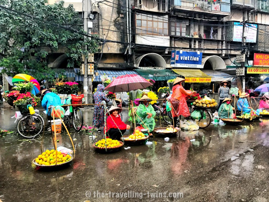 what to do in hanoi - go visit local market