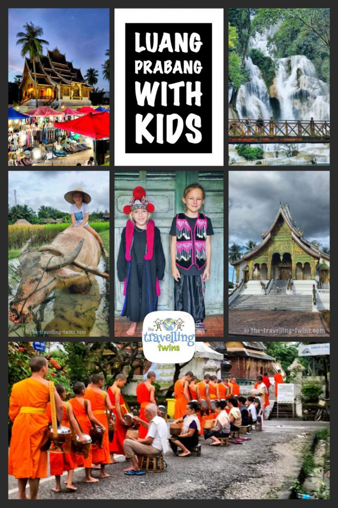 Luang Prabang is a amazing but expensive destination, with lots of family friendly activities - read our blog post to learn about family fun we had in Luang Prabang #lunagprabang #luangprabangwithkids #travellingwithkids #travelwithkids  destination,  luang prabang,  luang prabang lao,  luang prabang weather,  luang prabang laos,  luang prabang hotels