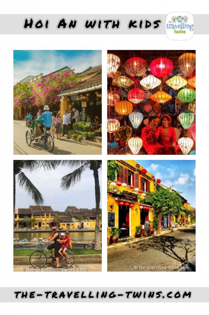 What to do in Hoi An with kids? there is lots to choose from - different workshops - lantern making, mask making pottery etc. its an awesome place to be with kids. #hoian #thingstodoinhoian #vietnamwithkids