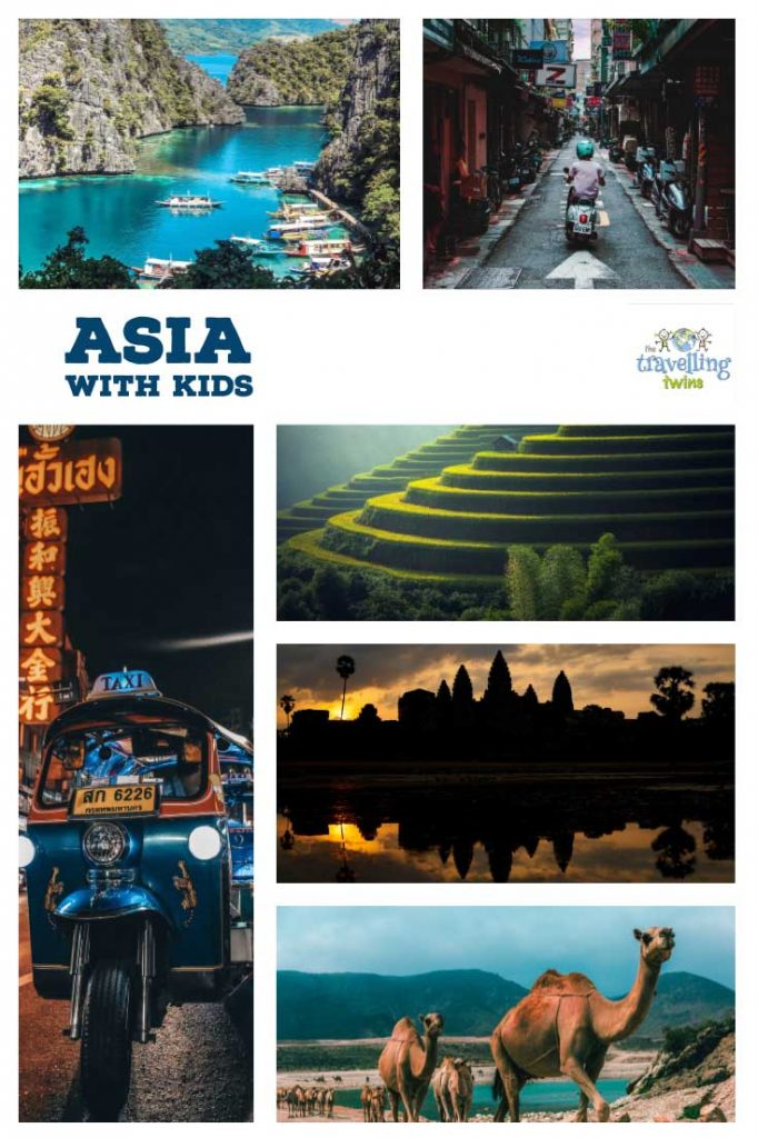 Asia with kids - what are the best places in Asia to visit with your family?  Thailand, malaysia, Borneo, Vietnam, Bali, Oman, Dubai and more. Read our recommendations for the best family holiday destinations in Asia.